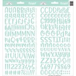 Doodlebug - Alphabet Stickers: Abigail, mint