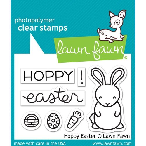 Lawn Fawn - Clear Stamps: Hoppy Easter