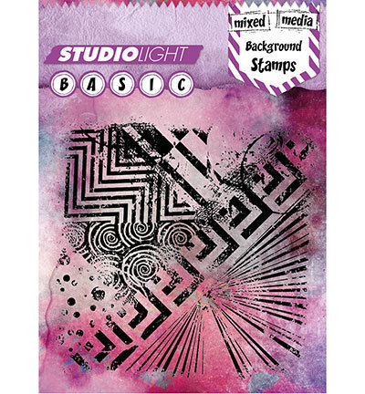 Studio Light - Clear Stamps: Basic Mixed Media Background Nr.258