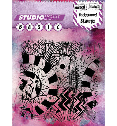 Studio Light - Clear Stamps: Basic Mixed Media Background Nr.259