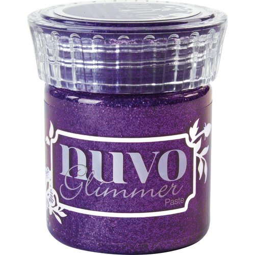 Nuvo - Glimmer Paste: Amethyst Purple