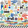 "Simple Stories - Lil' Dude: Combo Cardstock Stickers 12""x12"""