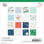 "Pinkfresh Studio - Holiday Vibes: Paper Pack 6x6"" (32 Blatt)"