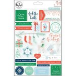 Pinkfresh Studio - Holiday Vibes: Puffy Stickers (25 St.)