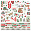 "Simple Stories - Merry & Bright: Combo Cardstock Stickers 12""x12"""
