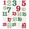Simple Stories - Merry & Bright: Numbers Die-Cuts (25 St.)