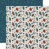 Carta Bella - Let It Snow: Smitten For Mittens / Snowflakes Paper 12x12""