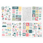 "Simple Stories - Freezin´ Season: 4""x6"" Stickers (8 Blatt)"
