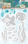 Studio Light - Cutting Dies: Ocean View No. 192 - Fische und Algen