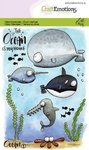 Craft Emotions - Clear Stamps: Ocean No.1 (Meerestiere)