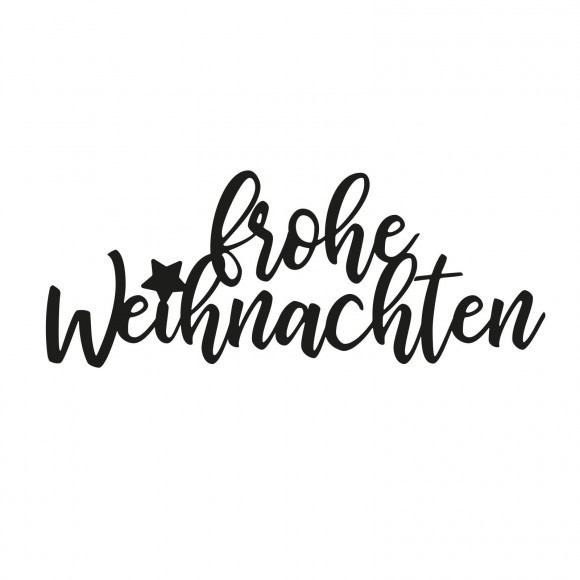 """Vaessen Creative Stanzschablone Schriftzug Text /""""frohe Weihnachten/"""""""
