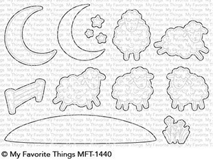 My Favorite Things: Die-namics - Over The Moon For Ewe