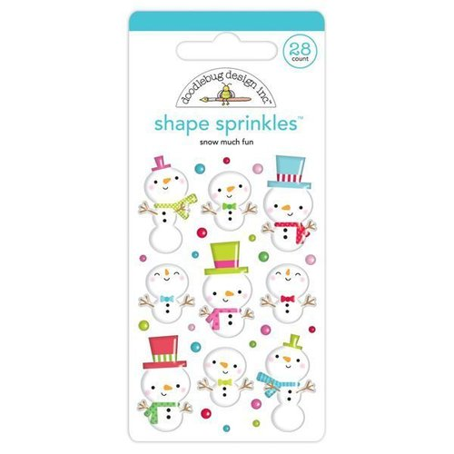 Doodlebug - Shape Sprinkles: Snow Much Fun (28 St.)