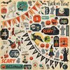 "Carta Bella - Happy Halloween: Element Sticker 12""x12"""