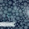 "Craft and You Design - North Wind: #8 Snowflakes Paper 12""x12"" (mit Glitter)"