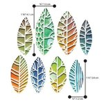 Sizzix - Thinlits: Tim Holtz - Cut Out Leaves (8 Dies)