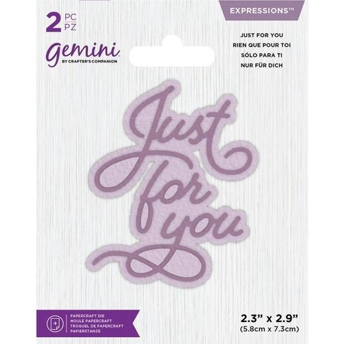 Gemini - Stanze: Just for you