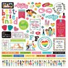"Photo Play - Best Friends: Element Stickers 12""x12"""