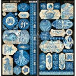 "Graphic 45 - Ocean Blue: Stickers 12""x12"""