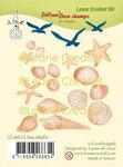 Leane Creatief - Clear Stamps: Sea Shells (Muscheln)