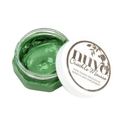 Nuvo - Crackle Mousse: Chameleon Green