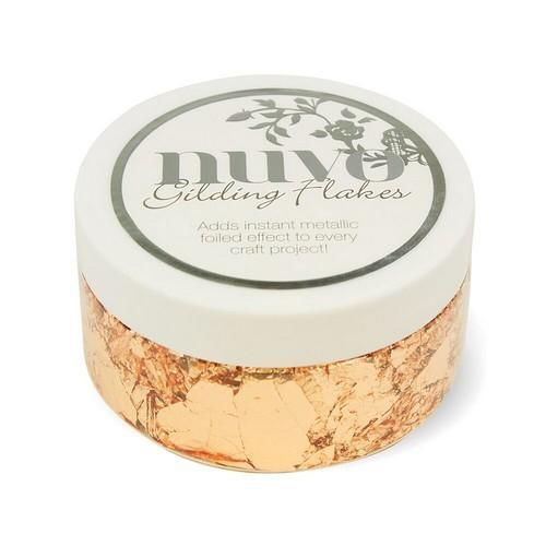 Nuvo - Gilding Flakes: Sunkissed Copper