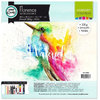 Vaessen Creative: Florence Watercolor Paper 30,5cm x 30,5cm - smooth - 300g - white - 5 Blatt