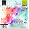Vaessen Creative: Florence Watercolor Paper 30,5cm x 30,5cm - smooth - 200g - white - 10 Blatt